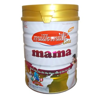 Sữa Bà Bầu Milkmilkgold Mama Hộp 900g (Bà mẹ mang thai và cho con bú) thumbnail