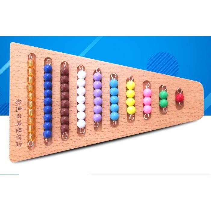 Khay bậc thang chứa hạt cườm (Colored Bead Stairs with Tray)