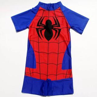 Bộ bơi liền thân bé trai người nhện