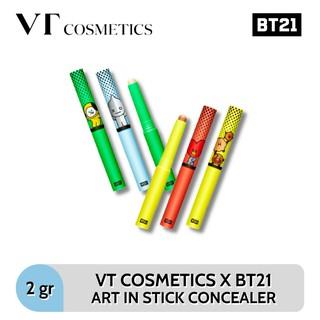VT COSMETICS (Hàng Mới Về) Kem Che Khuyết Điểm Dạng Thỏi Bt21