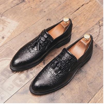 Giày Tây Nam Thời Trang cao cấp ( TẶNG KÈM VÍ DA CLUTH )