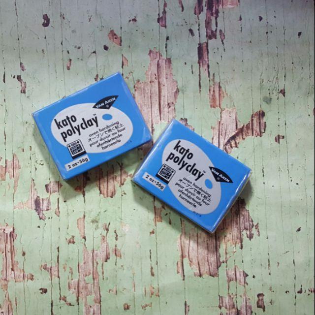 Đất sét nung polymer KATO màu xanh dương