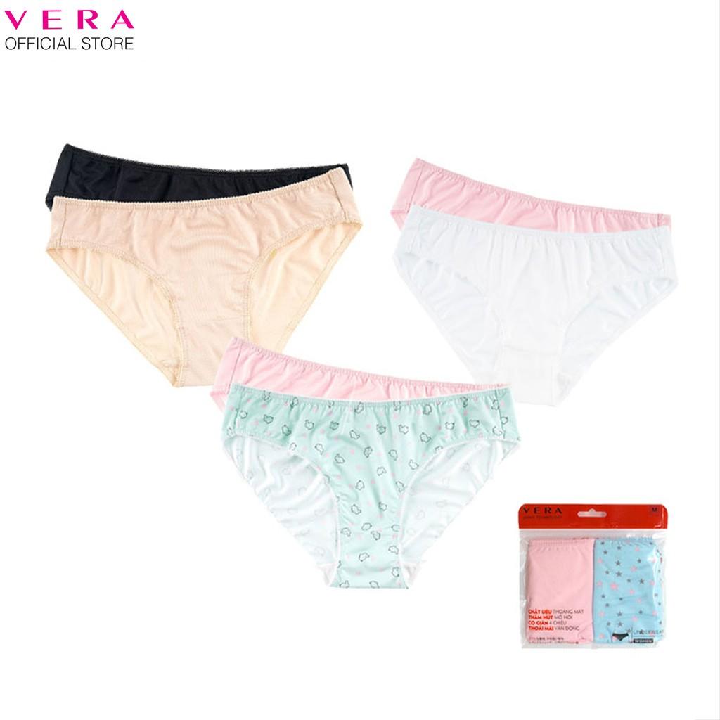 Combo 06 quần lót nữ thun lạnh Vera 6323