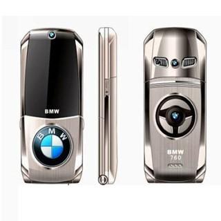 SIÊU SALE- Điện thoại siêu xe BMW 760 Plus Gold nắp gập