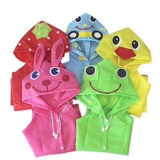 Áo mưa in hình động vật dễ thương cho bé thumbnail