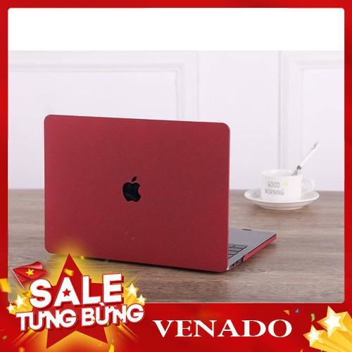 [Xả kho 3 ngày] Case ,Ốp Macbook Màu Đỏ Đô Đủ Dòng (Tặng Kèm Nút Chống Bụi Và Bộ Chống Gãy Sạc) Giá chỉ 260.000₫