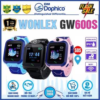 Đồng hồ thông minh Wonlex GW600S CHÍNH HÃNG CHỐNG NƯỚC IP67 CAMERA WIFI Bảo hành 1 năm Theo dõi trẻ mọi lúc thumbnail