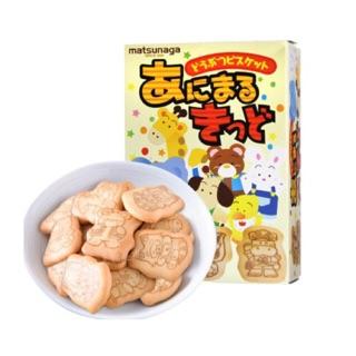 [7 2021] Bánh ăn dặm hình thú Matsunaga 35gr Nhật Bản thumbnail