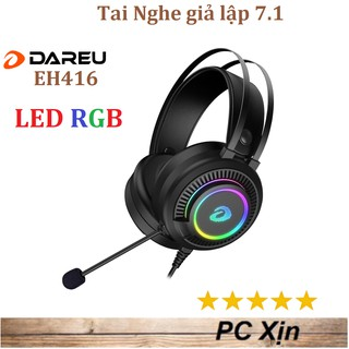 [Mã ELDEC10K giảm 10K đơn 20K] (Cao Cấp) Tai nghe Dareu EH416 RGB Gaming giả lập 7.1 thumbnail