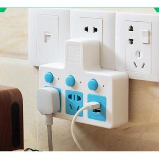 [SALE] Chia ổ điện thông minh 3 ổ 2 USB