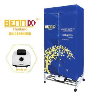 Tủ sấy quần áo, máy sấy quần áo Bennix BN-0186 KNOB(máy cơ) Thái Lan chính hãng, chất lượng tốt_KokiaHome