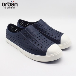 Giày thể thao Nam Nữ Fit_Urban tím than đế trắng thumbnail