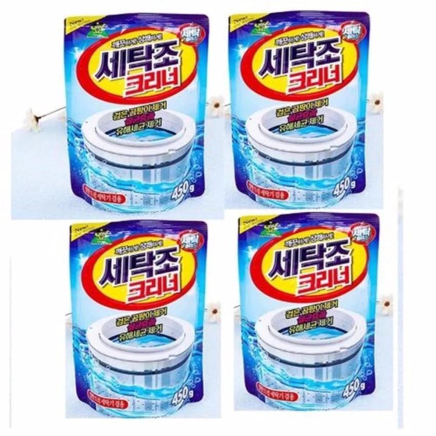 Bộ 4 gói bột tẩy vệ sinh lồng máy giặt 450g cao cấp - 3217580 , 341424152 , 322_341424152 , 320000 , Bo-4-goi-bot-tay-ve-sinh-long-may-giat-450g-cao-cap-322_341424152 , shopee.vn , Bộ 4 gói bột tẩy vệ sinh lồng máy giặt 450g cao cấp
