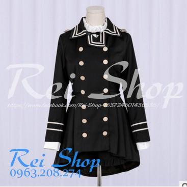 Áo khoác + quần kiểu dáng Lolita đen thanh lịch - Ouji Lolita - 3018123 , 592463362 , 322_592463362 , 499000 , Ao-khoac-quan-kieu-dang-Lolita-den-thanh-lich-Ouji-Lolita-322_592463362 , shopee.vn , Áo khoác + quần kiểu dáng Lolita đen thanh lịch - Ouji Lolita