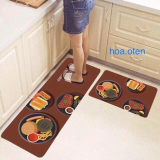 [Chọn Mẫu] Bộ Thảm Bếp 3D Siêu Đẹp Chống Trơn Trượt 120x40cm + 60x40cm thumbnail