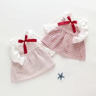 Đầm thời trang công chúa phong cách anh quốc xinh xắn dành cho bé gái