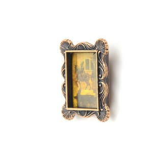 Mini Retro Photo Frame For 1:12 Miniature Dollhouse Bedroom Decor Gift DIY