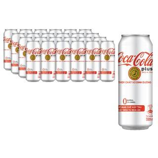 """[Mã GRO1COKE1 giảm 15% đơn 150k] Thùng 24 Lon Nước Giải Khát Coca-Cola Plus (Foshu) 320ml x24 giá chỉ còn <strong class=""""price"""">21.000.000.000đ</strong>"""