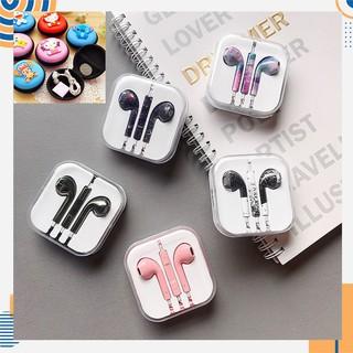 Tai nghe nhiều màu (tặng hộp đựng) tùy chọn dành cho Samsung Xiaomi Iphone [ Bảo Hành 1 đổi 1 trong 1 tháng]