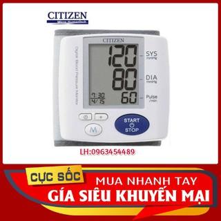 Yêu ThíchMáy đo huyết áp điện tử cổ tay Citizen CH617