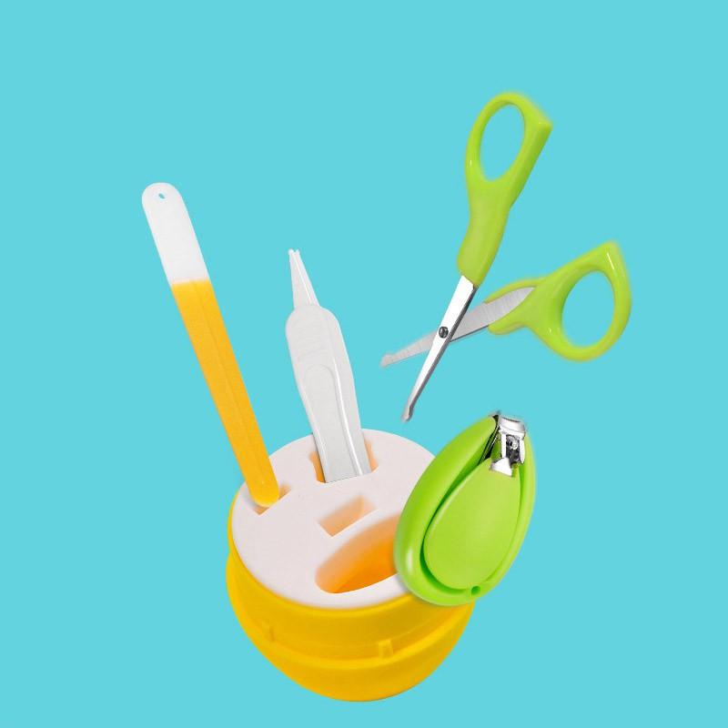[RẺ Vô ĐỊCH] Bộ cắt móng tay cho bé hình viên kẹo - 4 chi tiết