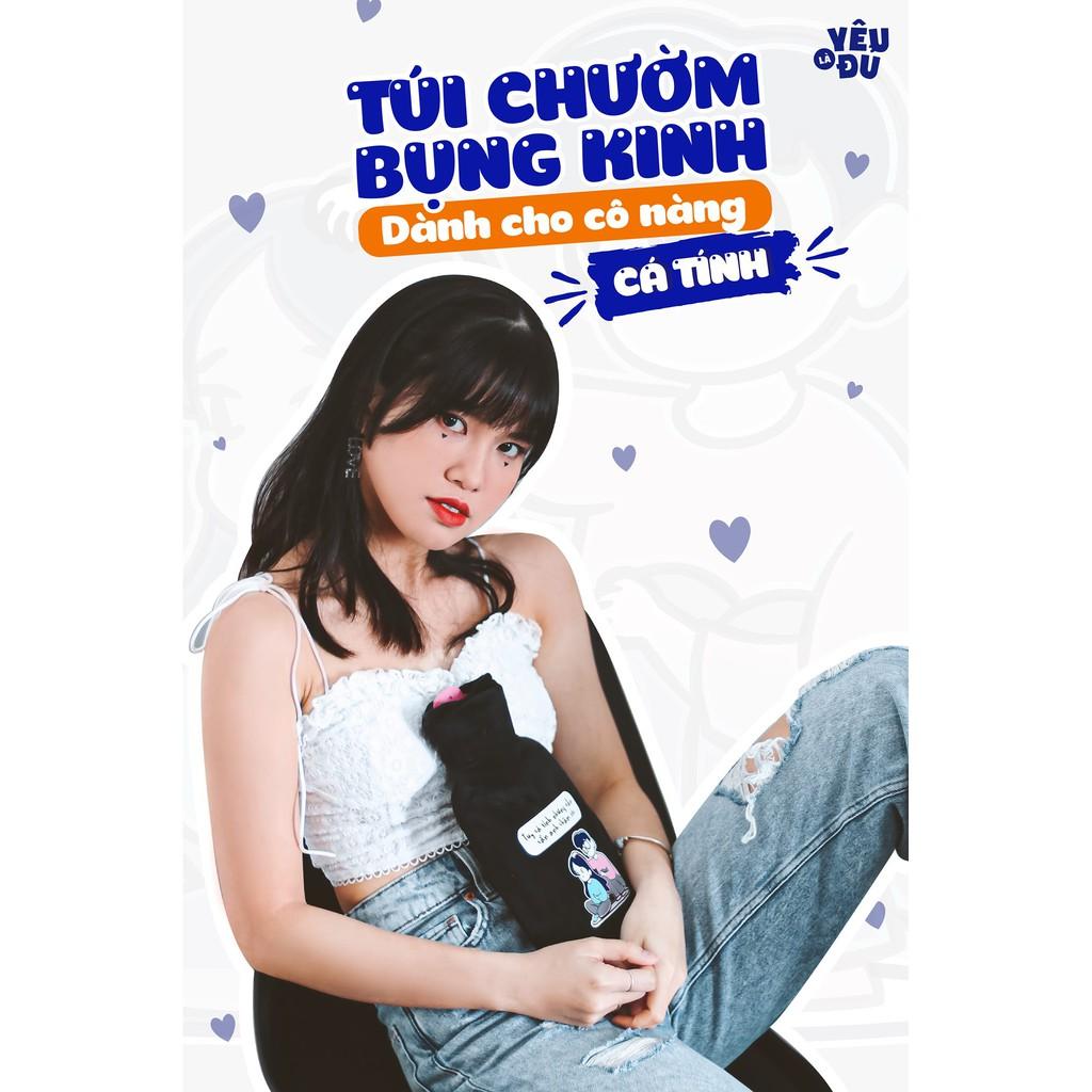 Túi chườm bụng kinh dành cho nam chăm nữ - Phiên Bản Dành Cho Cô Nàng Ngươi Yêu Cá Tính - YÊU LÀ ĐỦ SHOP