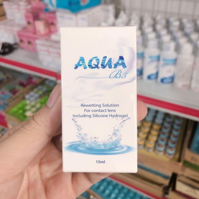 Combo 50 chai nhỏ mắt Aqua 15ml