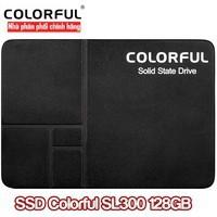 Ổ Cứng SSD Colorful SL300 128GB SATA 2.5″, HÀNG CHÍNH HÃNG, FULL BOX. BẢO HÀNH 3 NĂM Giá chỉ 488.000₫
