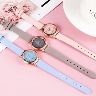Đồng hồ nữ Dzg D032 chính hãng, kiểu dáng thời trang, mặt tròn nhỏ xinh xắn