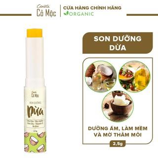 Son dưỡng dừa Cenota 2.5g, son dưỡng giảm thâm môi thumbnail