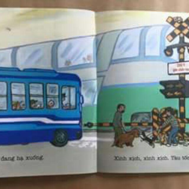 Bộ ehon xe buýt (giá bìa 156k/4c)