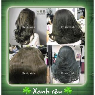 [KHÔNG TẨY] Thuốc nhuộm tóc xanh rêu Hàn Quốc FB Thuốc Nhuộm Tóc thumbnail