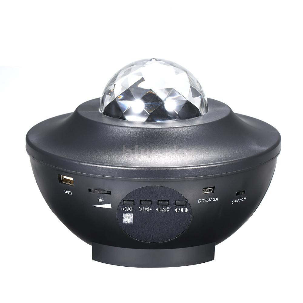 Đèn LED chiếu hiệu ứng sao AC110-220V 6W RGBW có thể phát nhạc