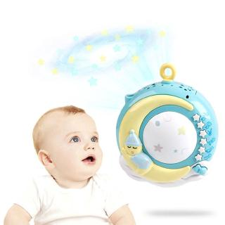 Bed Bell Baby Bedroom Ring Toys Music Pedal Piano Projection Infant Conciliation Toys