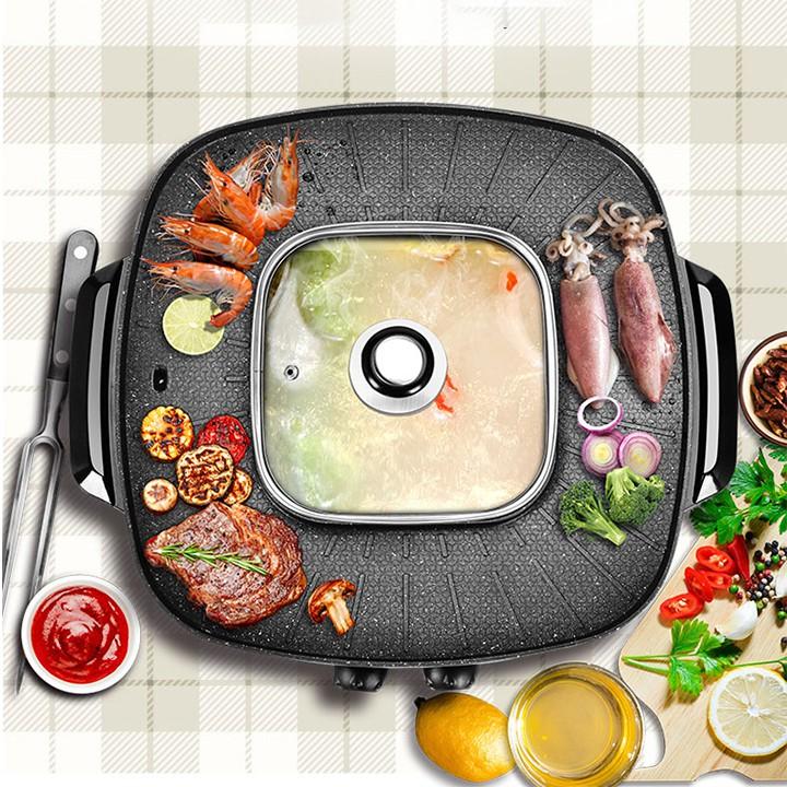 Bếp Nướng Điện - bếp lẩu nướng điện - 2774775 , 628978567 , 322_628978567 , 1200000 , Bep-Nuong-Dien-bep-lau-nuong-dien-322_628978567 , shopee.vn , Bếp Nướng Điện - bếp lẩu nướng điện