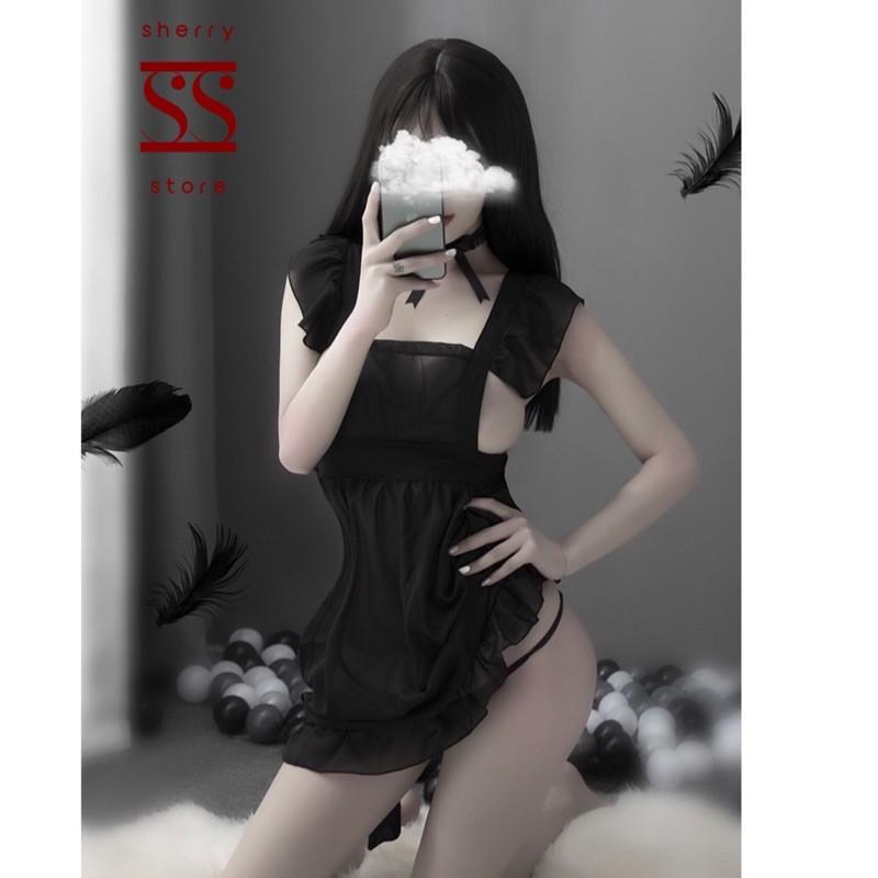 Nơi bán Bộ váy ngủ cosplay quyến rũ gợi cảm Sherry Store S051