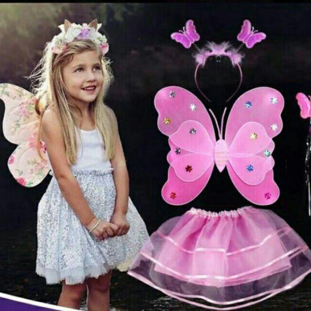 Bộ hóa trang thiên thần cánh bướm
