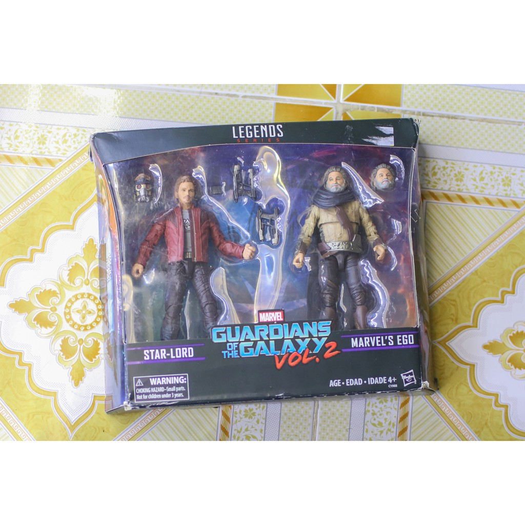Marvel Legend Star-Lord + Ego 2nd new >90%