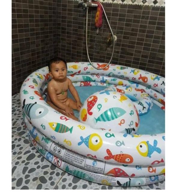 combo/5 chiếc bể bơi 3 chi tiết