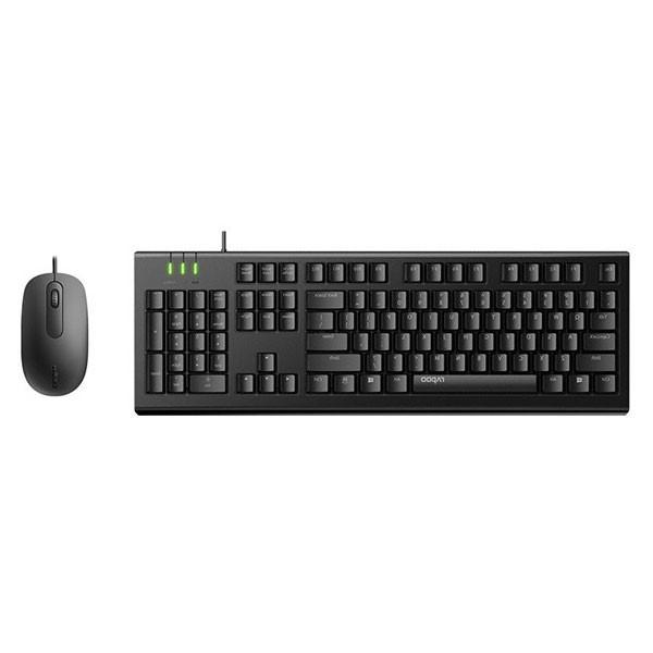 Bộ bàn phím chuột Rapoo X120PRO (USB, Có dây)