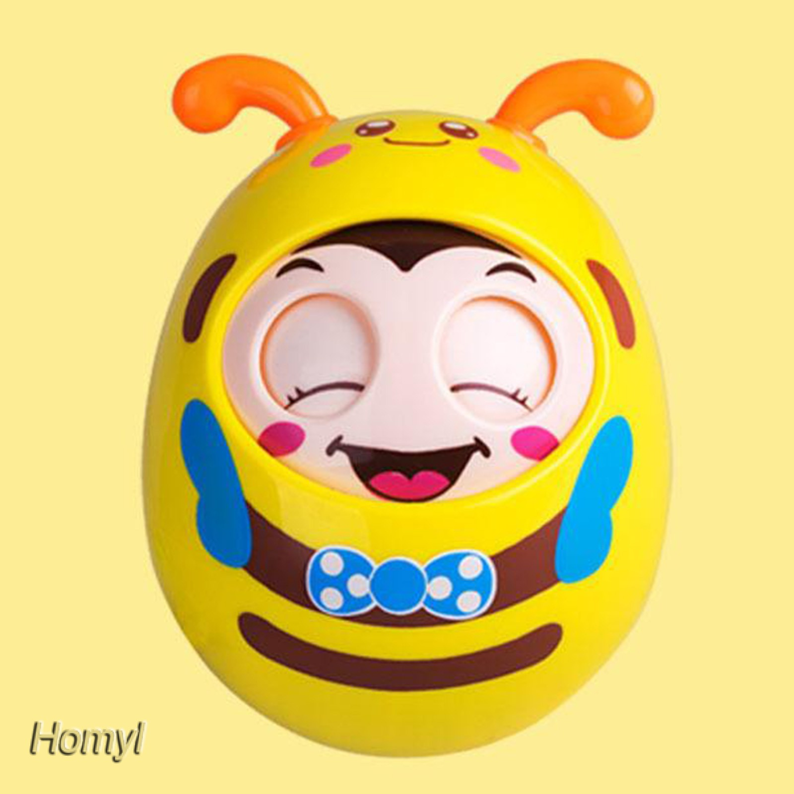 [HOMYL] Safety Roly-Poly Tumbler Doll Infant Baby Toys Developmental Gifts Toy