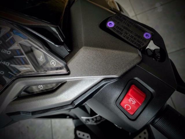 ỐC TITAN NẮP DẦU GR5 gắn thông dụng tất cả nắp dầu thắng các xe