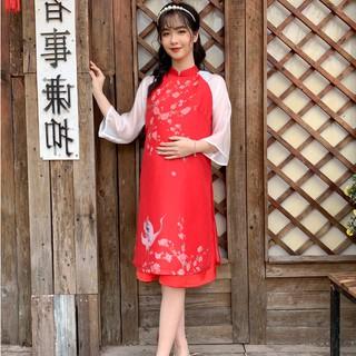 MEDYLA - Váy bầu xinh cách tân cho mẹ bầu diện tết cực xinh - VS580 thumbnail