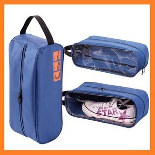 túi đựng giày thể thao - túi vải mini du lịch có quai xách tiện dụng
