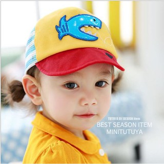 [Có đánh giá của KH] Mũ hình chú cá cho bé dưới 3 tuổi màu sắc dễ thương