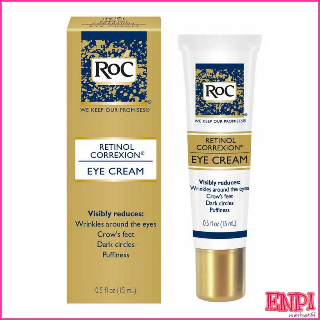 Kem mắt giảm nhăn & thâm RoC Retinol Correxion Eye Cream
