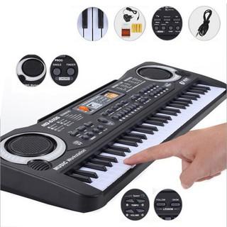 Đàn piano điện 61 phím có gắn Micro