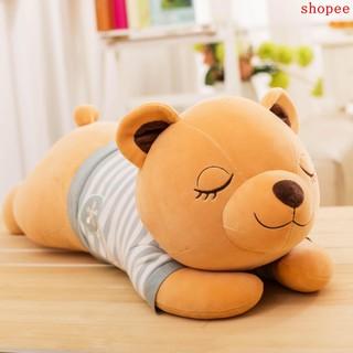 Raccoon plush toy lazy sleeping pillow long strip pillow cute doll doll lazy dol