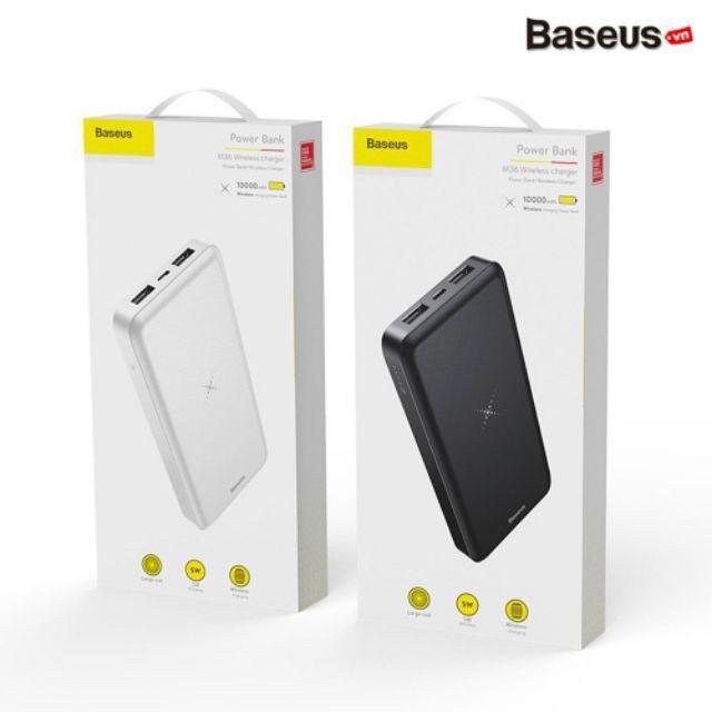 Pin dự phòng sạc không dây Baseus M36 dung lượng cao 10000mah an toàn sử dụng