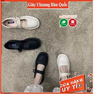 Freeship giày vintage trắng đen hot hit mã 203